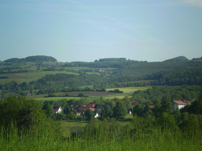 Blick über Poppenhausen (Wasserkuppe)